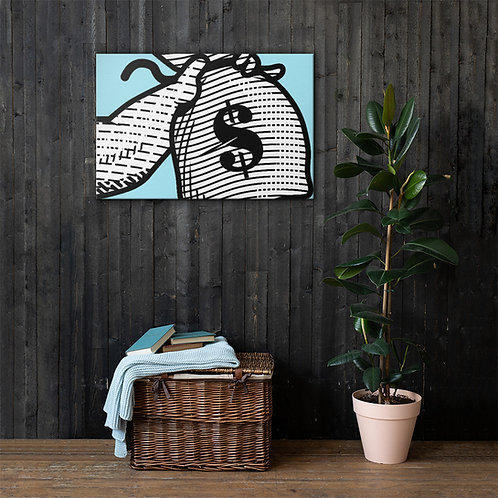 Bourn Rich Logo Canvas