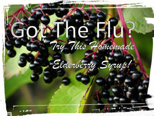 Got The Flu? Try This D.I.Y. Elderberry Syrup.