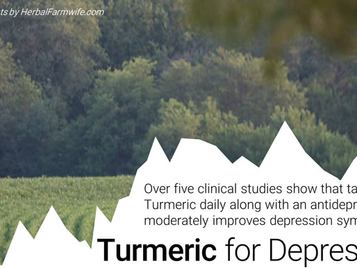 Turmeric Aids Anti-Depressants