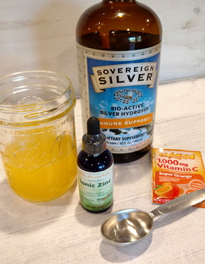 Fight A Cold or Flu With This        D.I.Y. Drink!