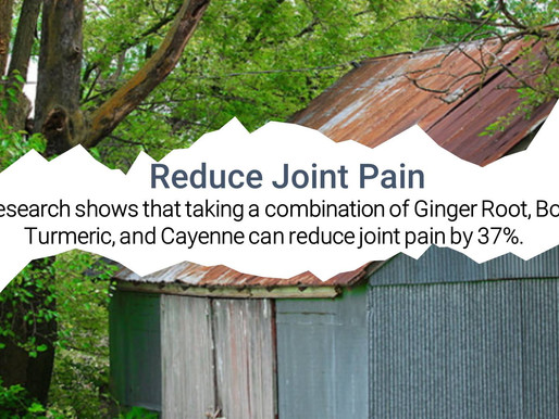 Reduce Joint Pain Naturally
