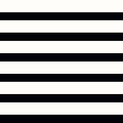 Hearts & Heroes Stripes Black