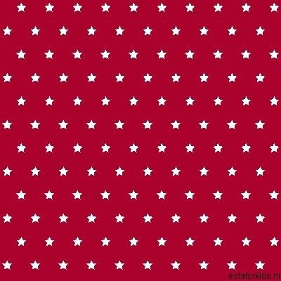 Hearts & Heroes Stars Red