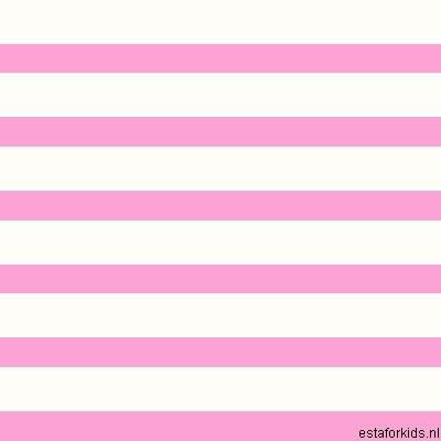 Hearts & Heroes Stripes Pink