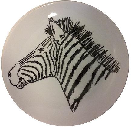 Prato Decorativo Zebra GD