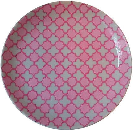Prato Decorativo Think Pink PQ