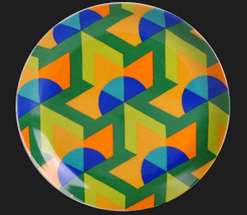 Prato Decorativo Hexagono