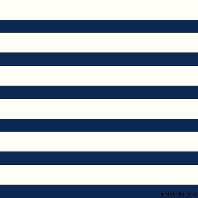 Hearts & Heroes Stripes Deep Blue