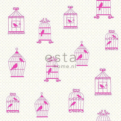 Giggle Animals Birds Pink