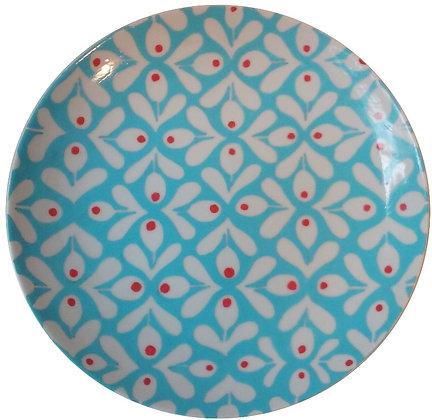 Prato Decorativo Orla Azul GD