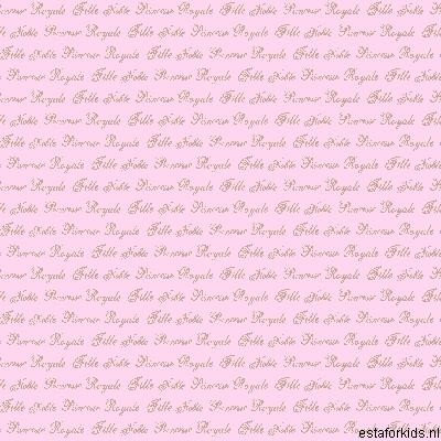 Hearts & Heroes Text Soft Pink