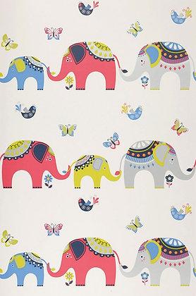 Elephants Pink