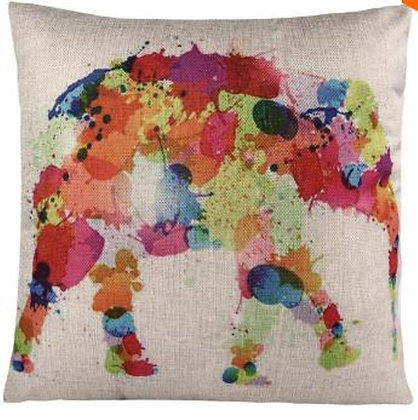 Almofada Elefante Colorido