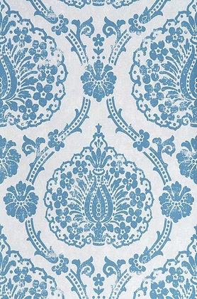 Fidelia Off White & Blue