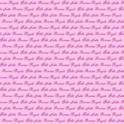 Hearts & Heroes Text Pink