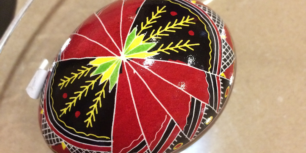 Pysanky with Basia at TPCA  (3/18/21)  - Mid-Level Class