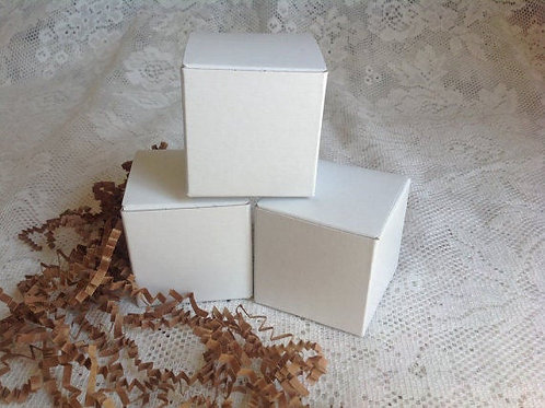 S30 - White Gift Box 2x2x2 Favor Box Wedding - Shower - Party 10pk