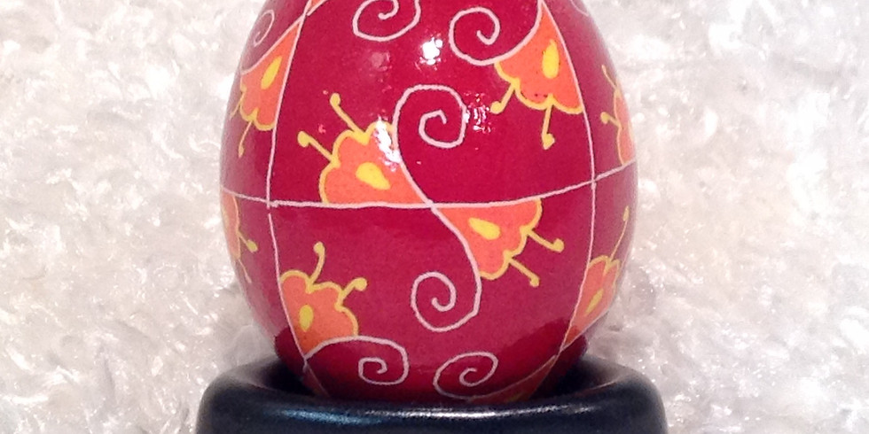 PA Guild Of Craftsmen Workshop 2- Pysanky with Basia -  Mar 30, 2019