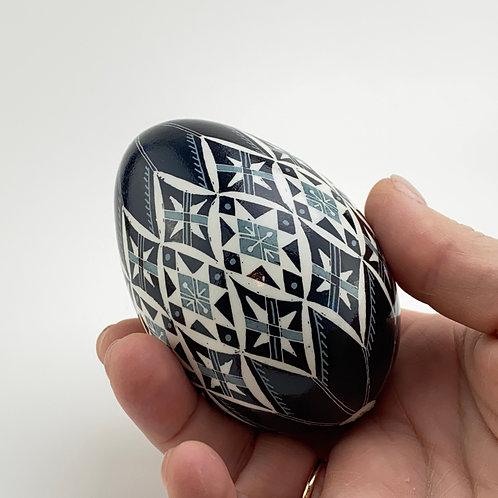 P002  - Pysanka  - Goose  Eggshell