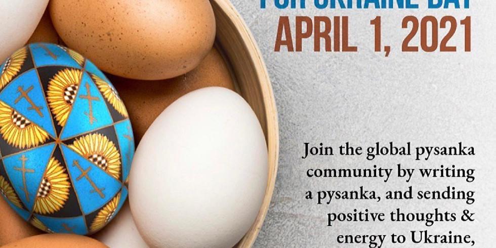 Pysanky for Ukraine