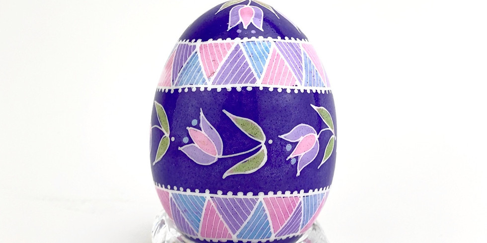 Pysanky with Basia - Mother's Day Florals (5/6/21)