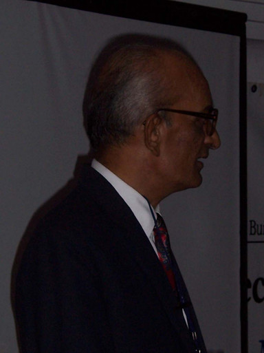 A Dapper R.V. Joshi - our first Presiden