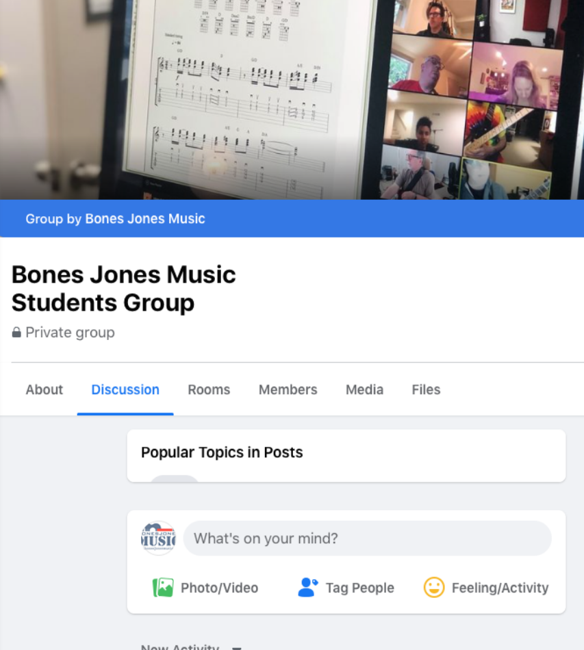 Students Online Facebook Group