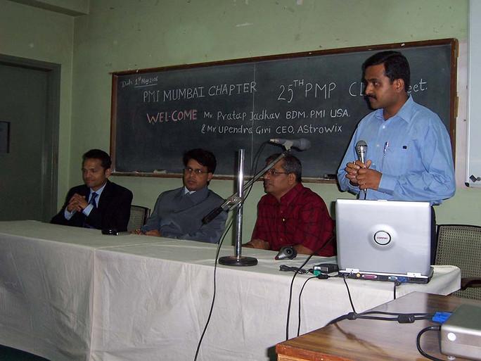 25th Club meeting in May 2006.jpg