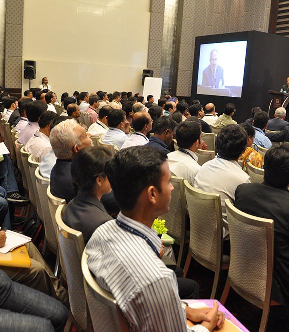 Conclave 2011- SBI MD delivering the key