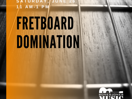 Do you control your fretboard or does it control you?