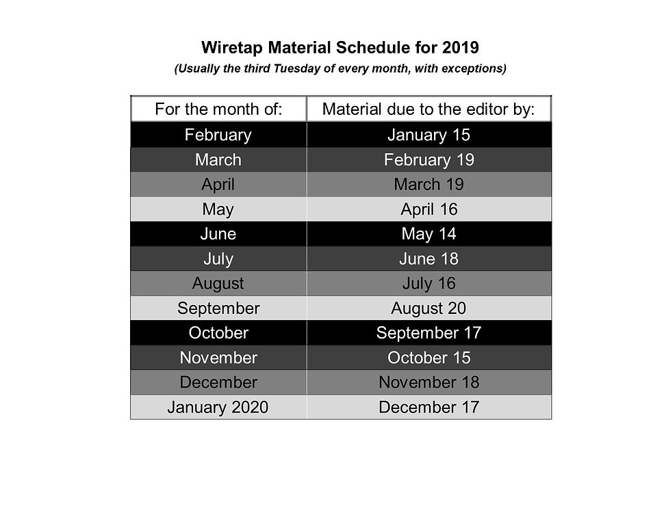 2019 Wiretap due dates.jpg