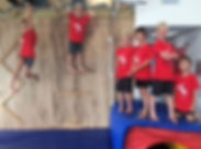 Our level 2 parkour group looking super