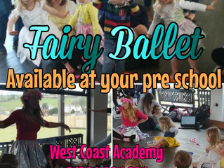 Fairy Ballet goes on tour