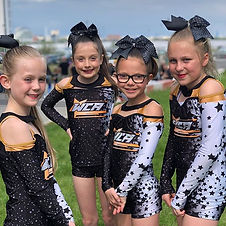 Our beautiful athletes today at Cheer-sp