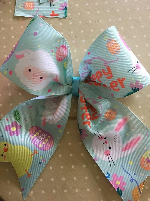 Easter Cheer Bow