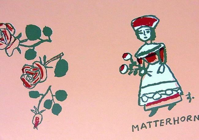マッターホーンさん包装紙