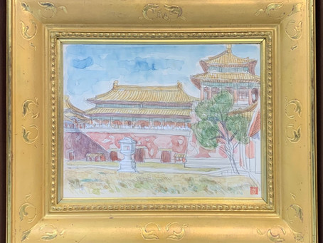 安井曽太郎の紫禁城