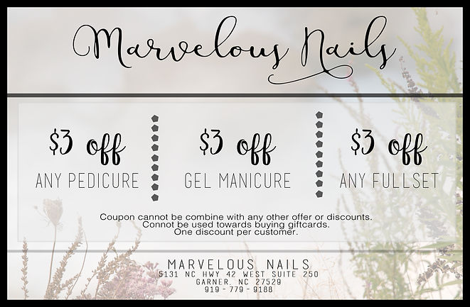 marvelous nails coupon
