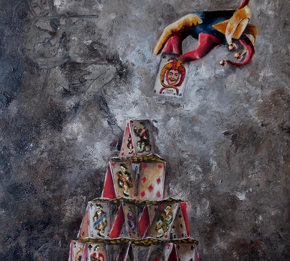 Series Fortune Fortuna Painting By Tatiana Siedlova
