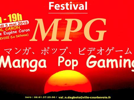 Festival Manga Pop Gaming!