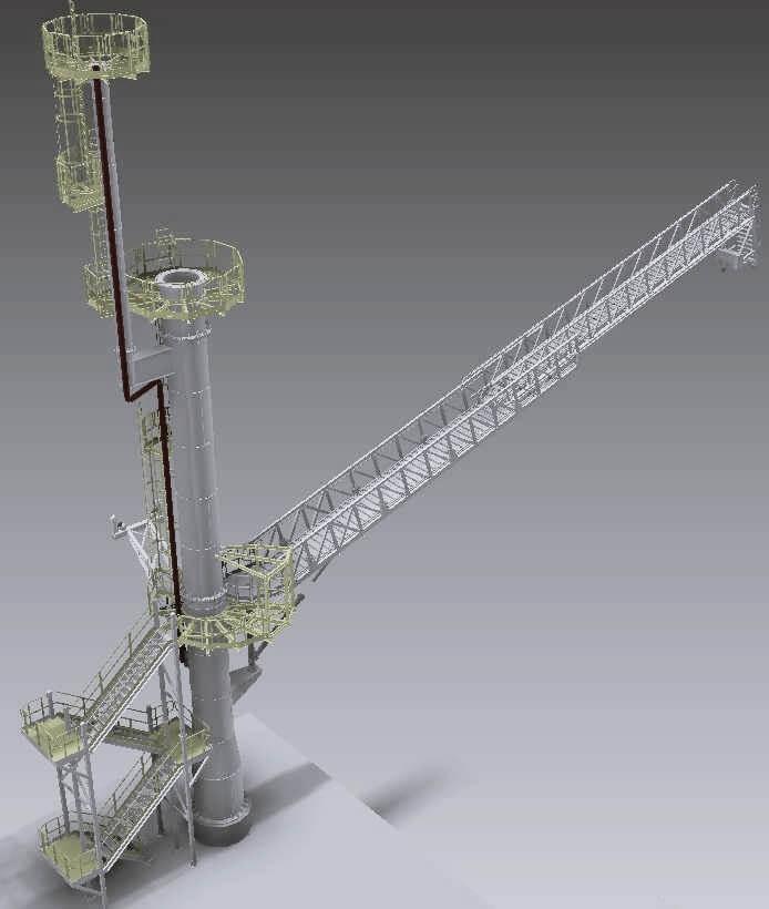 estructura móvil