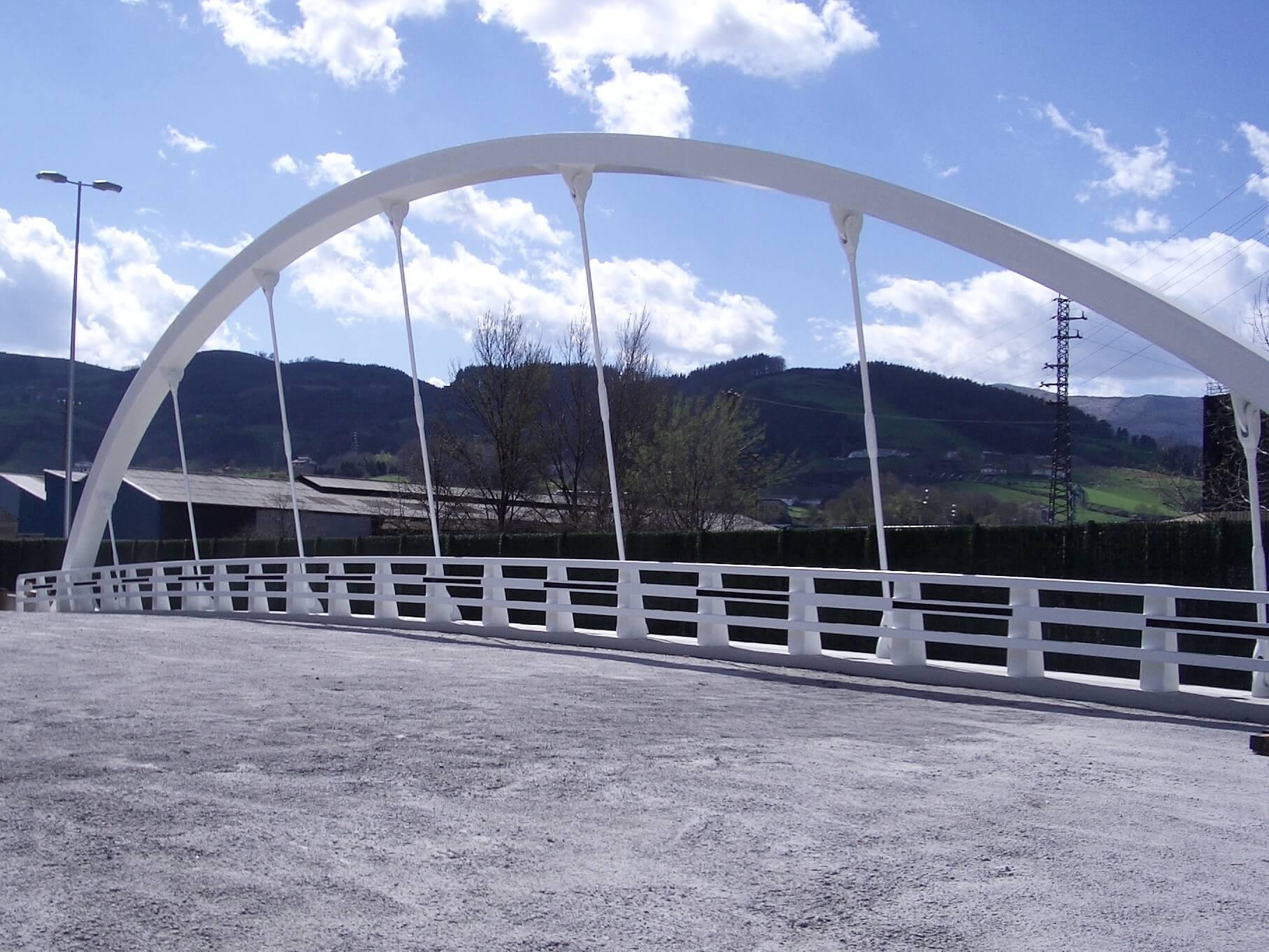 puente arco-tirante | Azpeitia