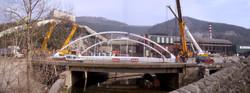 puente arco en Azpeitia