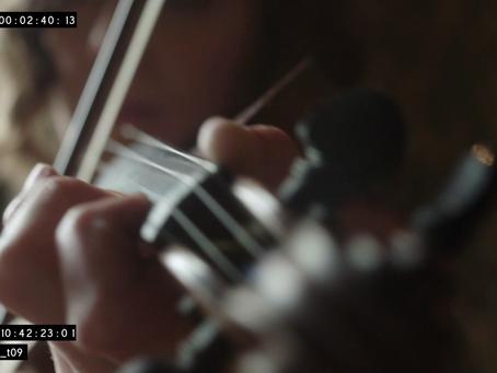 Eduardo Diez Garcia - the solo violin of 'Clinch'.