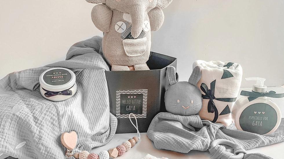 SURPRISE BOX- GREY ELEPHANT