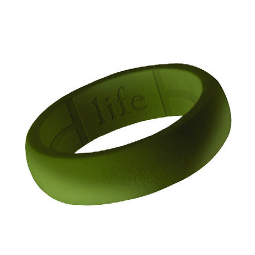Women's Silicone Ring- Olive Green