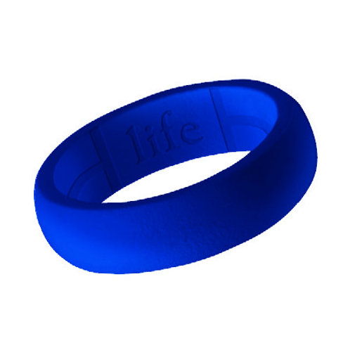 Women's Silicone Ring- Blue
