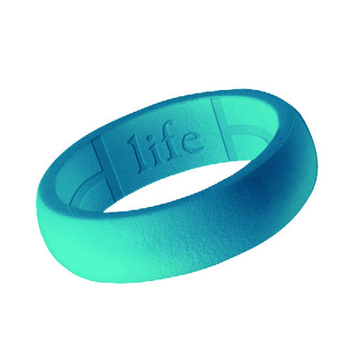 Women's Silicone Ring- Beach Blue