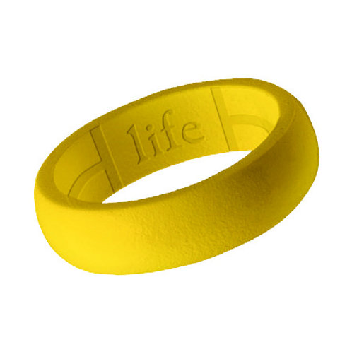 Women's Silicone Ring- Yellow