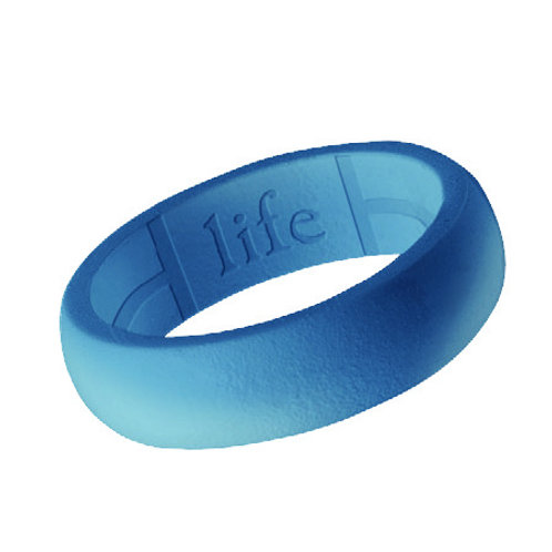 Women's Silicone Ring- Light Blue